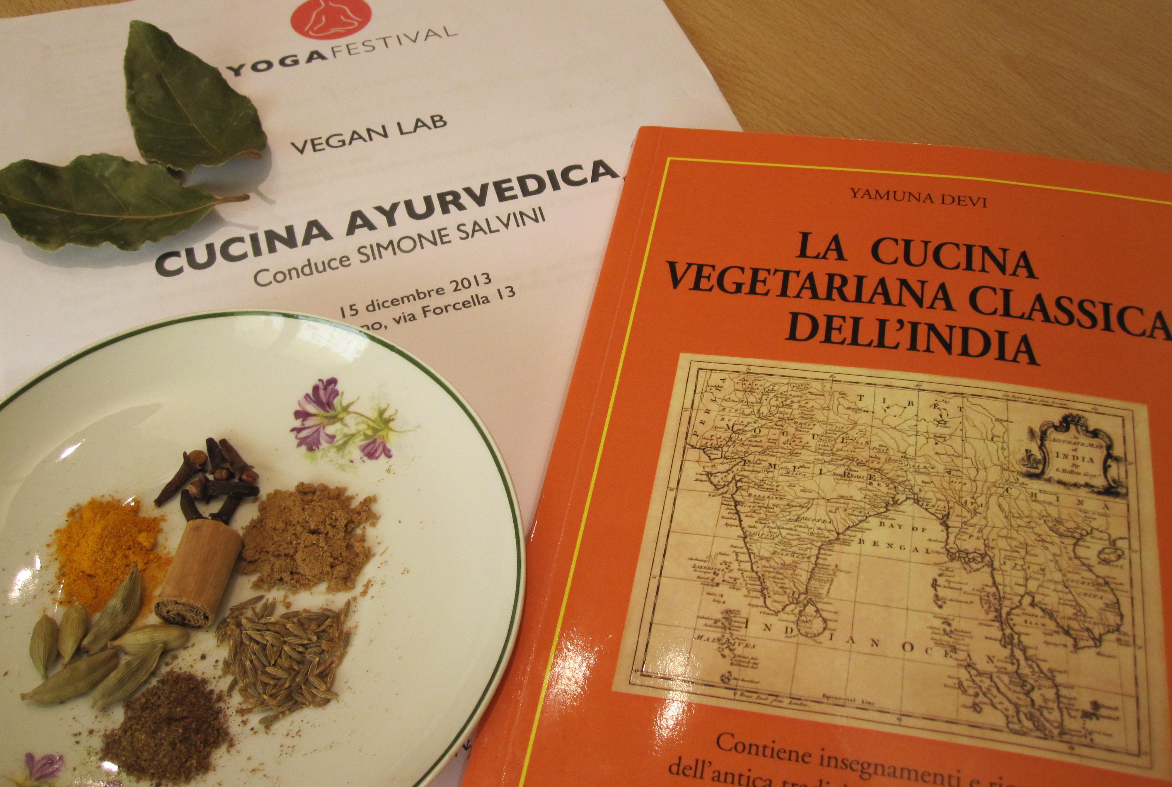 capire quali spezie occorrevano e dosarle nel modo giusto per fortuna mi sono venuti in aiuto un bel libro di ricette indiane vegetariane acquistato lo