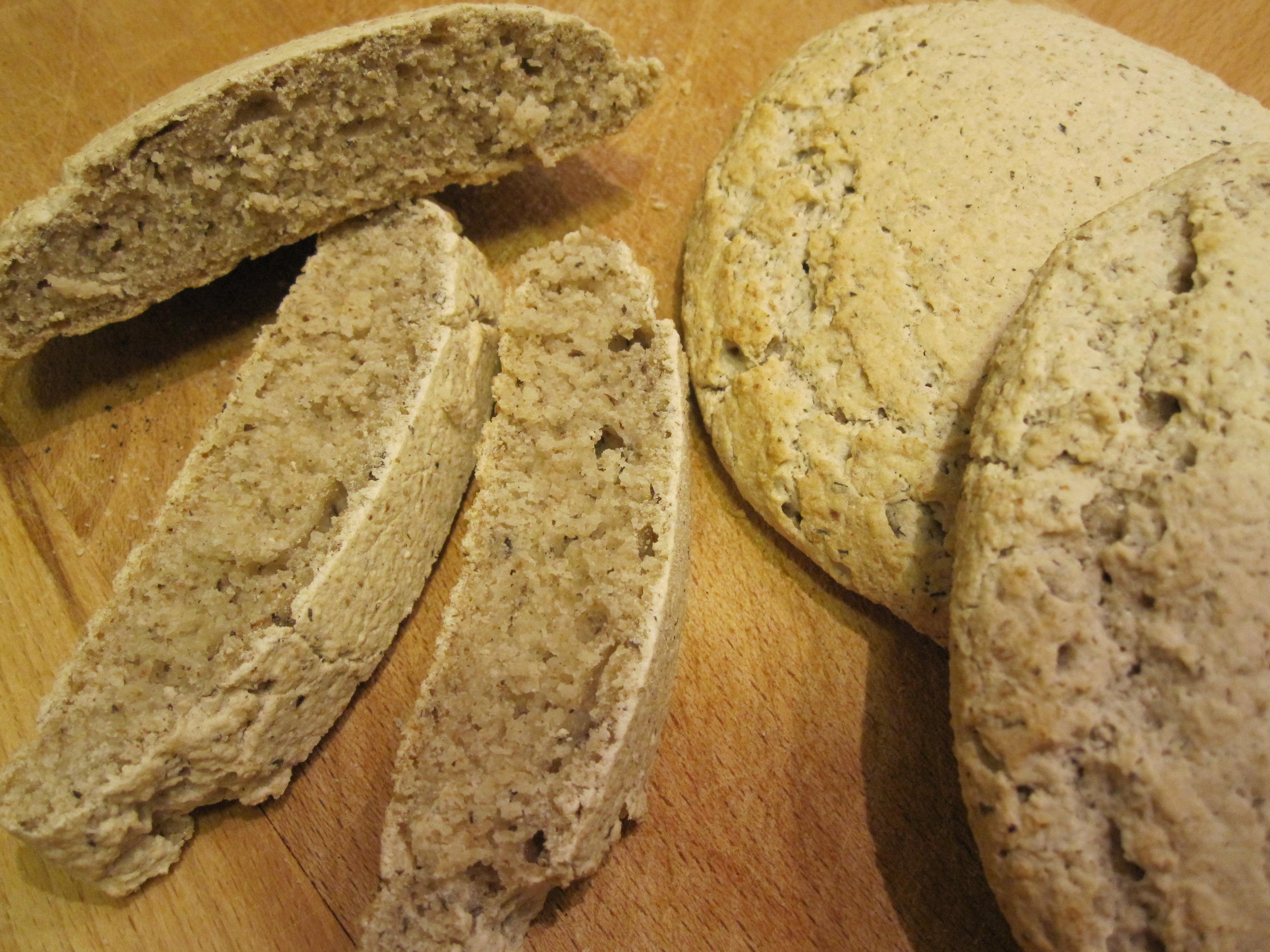 Pane Senza Glutine Integrale 1.0 La Mia Cucina Vegetale #A17C2A 4000 3000 Cucina Mediterranea Senza Glutine