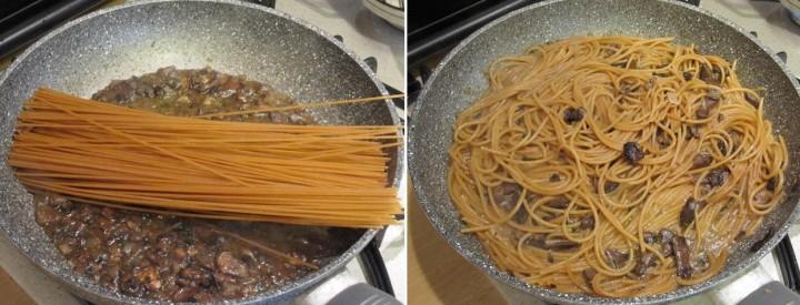 doppia foto spaghetti